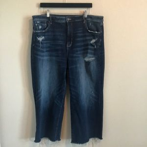 American Eagle Wide Leg Crop Jeans!